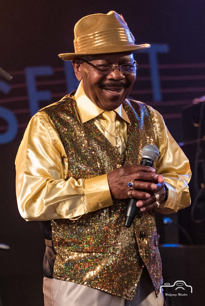 Wee Willie Walker´s All Star Soul Revue @ Gaildorf Bluesfest 2017