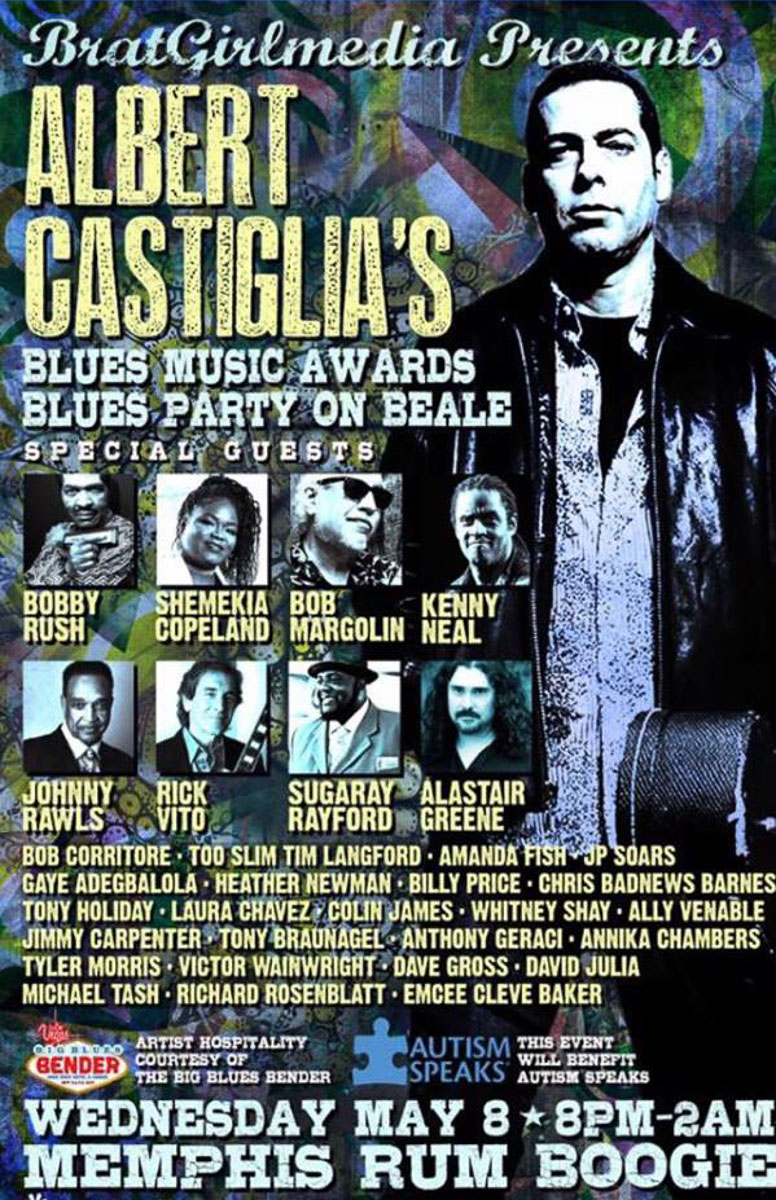 Albert Castiglia's Blues Party On Beale 2019
