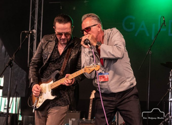 Kai Strauss & The Electric Blues All Stars feat. Paul Lamb @ Bluesfest Gaildorf DE 2019